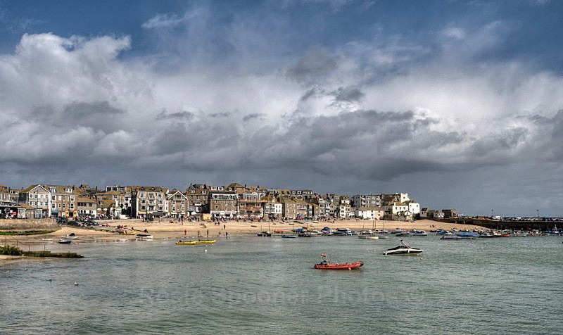 Rain Clouds over St Ives - St Ives and Hayle