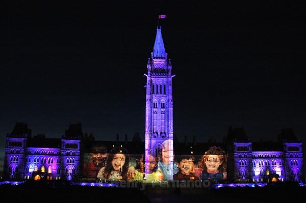 Parliament Light Show 5 - Summer