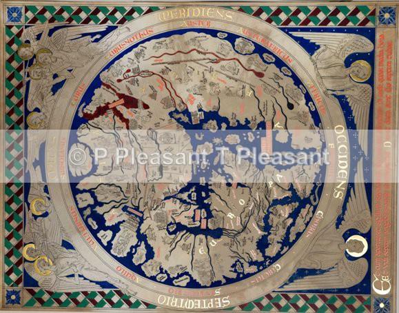 English Heritage Mappa Mundi - Museum and historical work