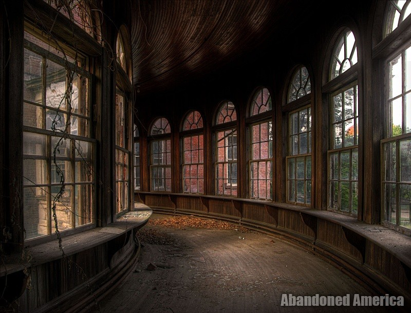 'nothing ever dies', Taunton State Hospital (Taunton, MA)   Abandoned America