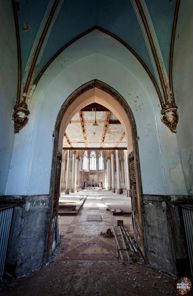 St. Boniface Church (Philadelphia, PA) | Vestibule Door - St. Boniface Church