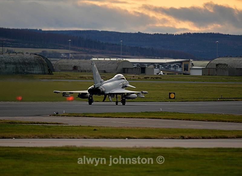 TYPHOON 5 - RAF LOSSIEMOUTH VISIT NOV 2017