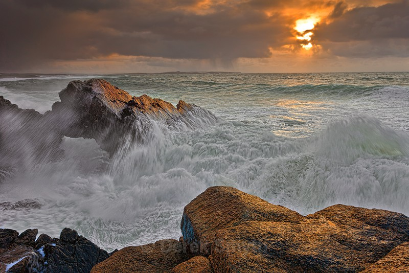 Stormy Sunset at Bloody Foreland - Wild Atlantic Way