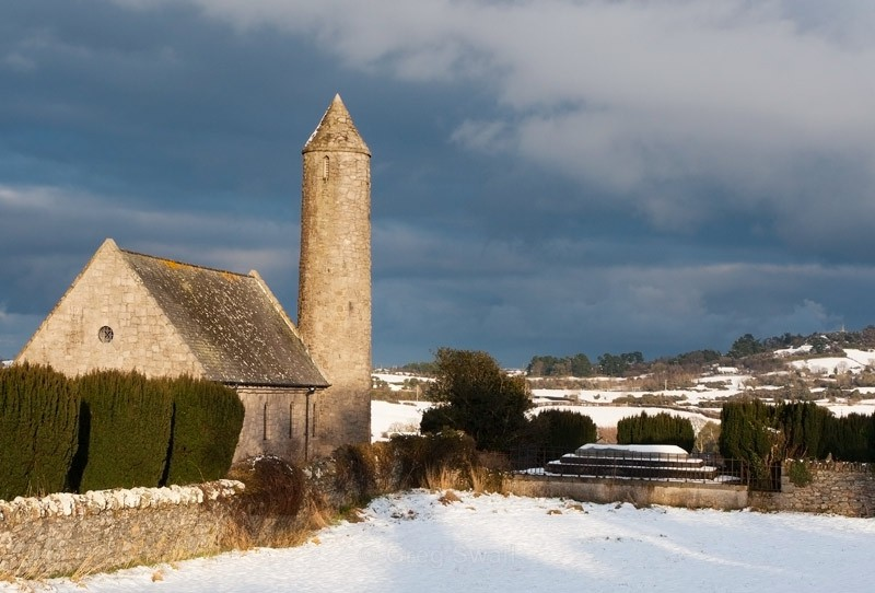 Saul Church in Winter - Downpatrick