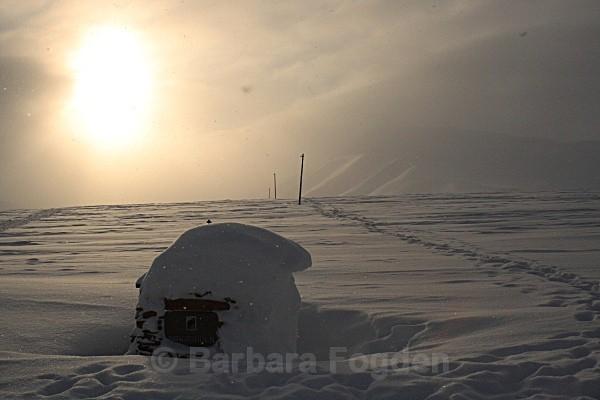 Platåberget 5707 - Winter in the daylight