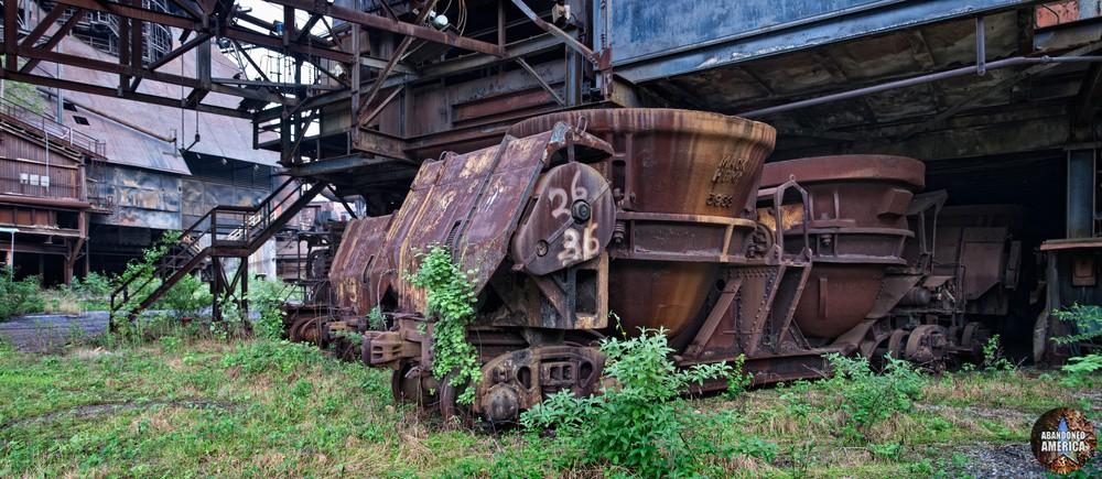 Bethlehem Steel (Bethlehem, PA) | Slag Cars - Bethlehem Steel