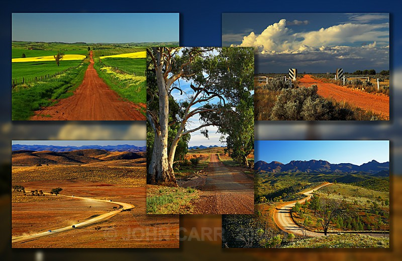 Country Roads Quintych-2 - MONTAGES