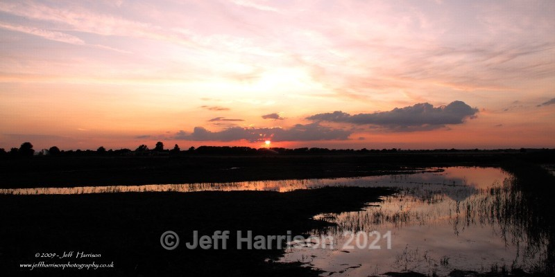 Dawn over Tubney Fen (image TubF 01) - Landscapes & Skies