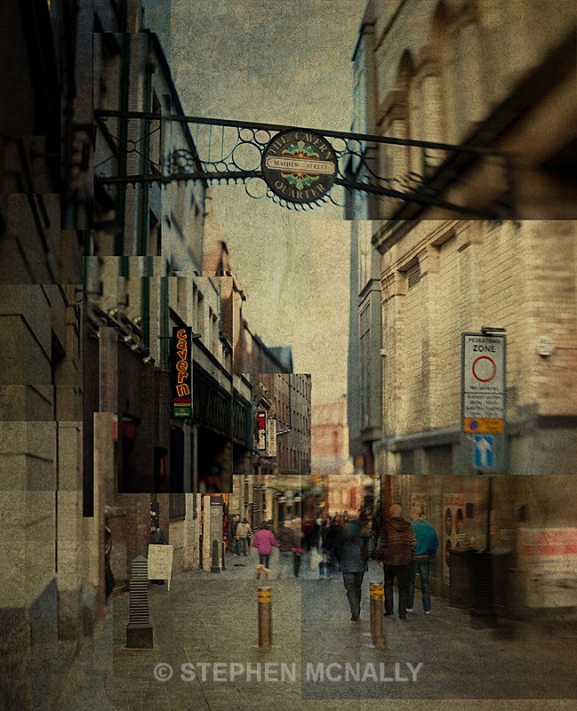 Mathew Street - Photographic Cubism