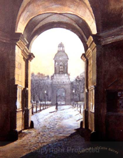 'Kings College, Dublin' - Landscapes