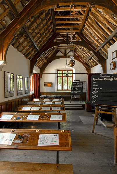 Tyneham School... - Places