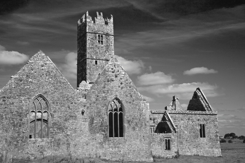 Ross Errily friary - Ruins and Not So Ruined