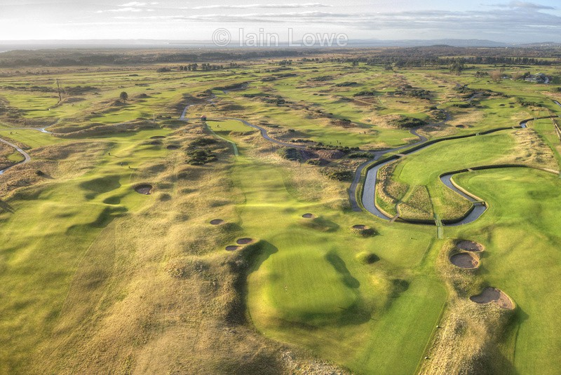 Carnoustie 16th Green to Tee - Carnoustie Golf Links images