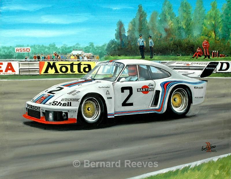 Porsche 935 Mugello, Italy 1977 - Sports cars