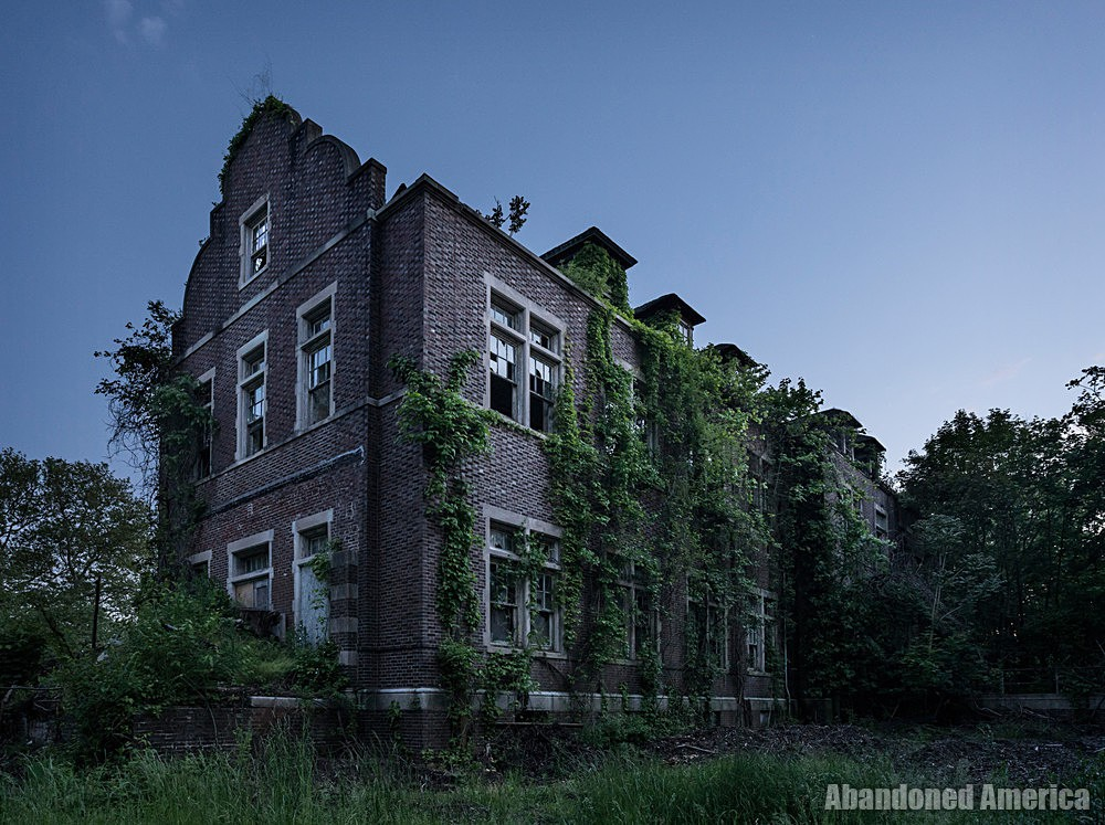 Pennhurst State School (Spring City, PA) | Ruins by Night - Pennhurst State School and Hospital