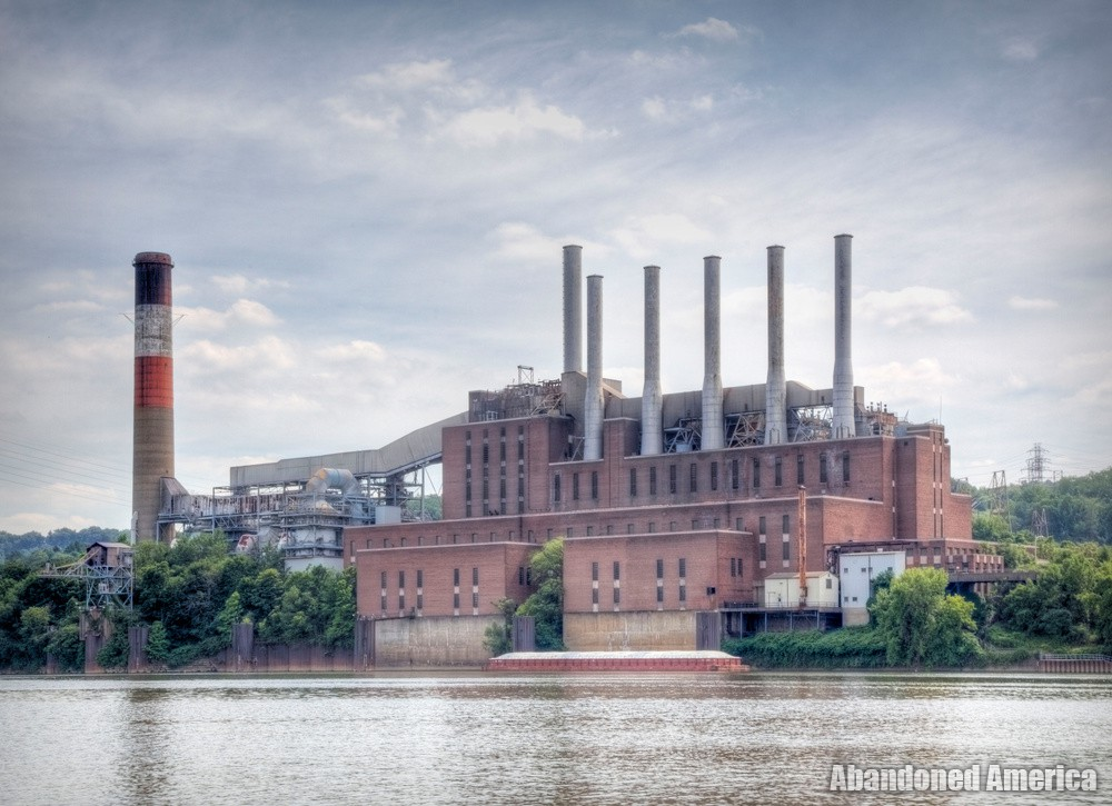 Frank R. Phillips Power Station (South Heights, PA) | Exterior Vista - Frank R. Phillips Power Station