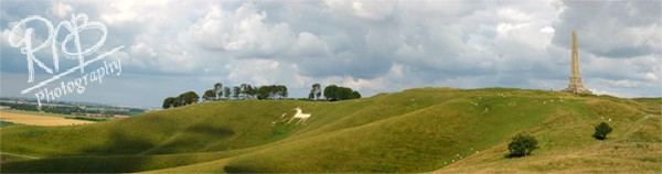 Cherhill White Horse - Panoramic Images