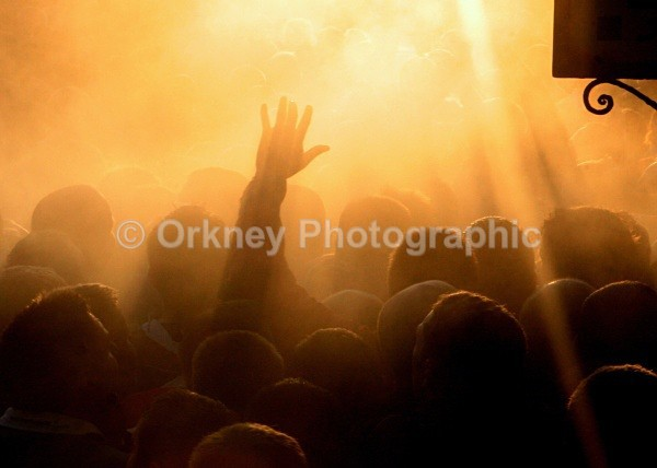 Ba xmas mens orange - Orkney Images