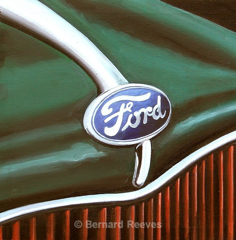 Ford Badge - Classic Car Badges
