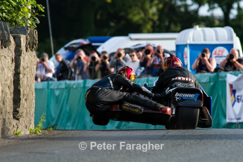 Karl Bennett and Lee Cain - Southern 100 Road Races