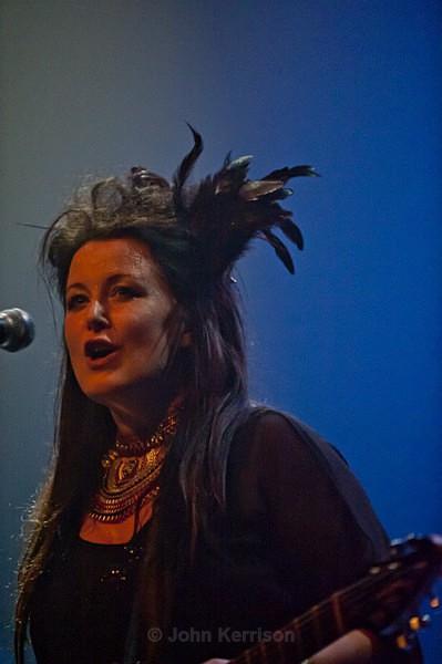 Panic Room's Anne-Marie Helder - Concert