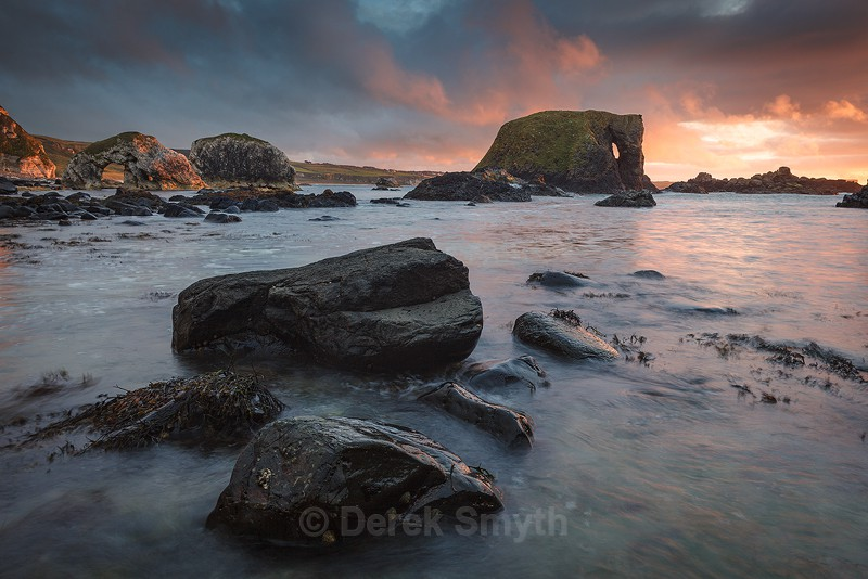 Elephant Rock Evening Light - Co. Antrim