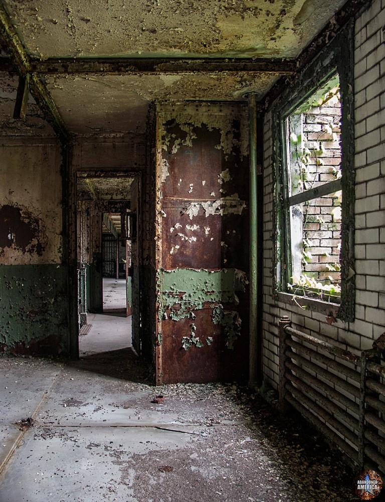 York County Prison (York, PA)   Steel Walls - The York County Prison