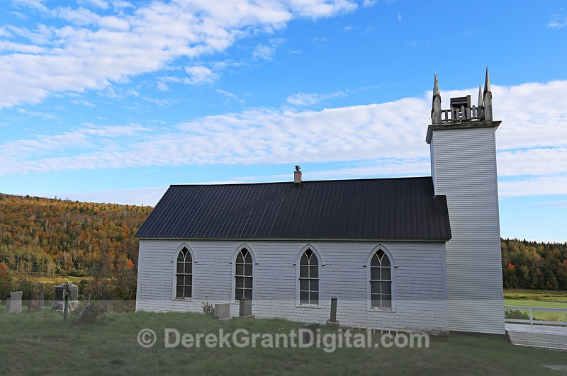St. Andrews Anglican Church, French Village - Churches of New Brunswick