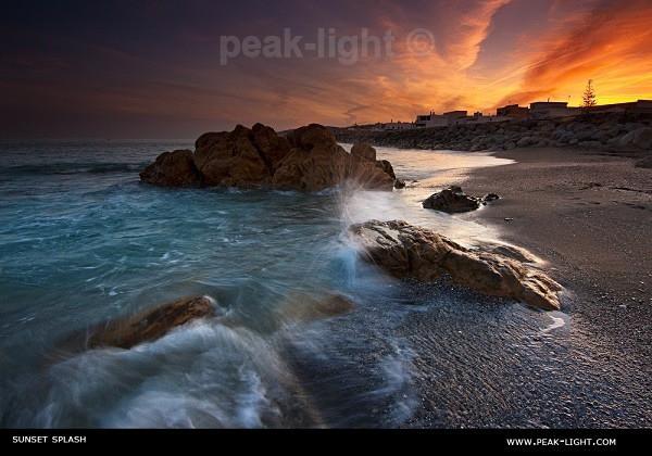 Sunset Splash - Foreign Shores