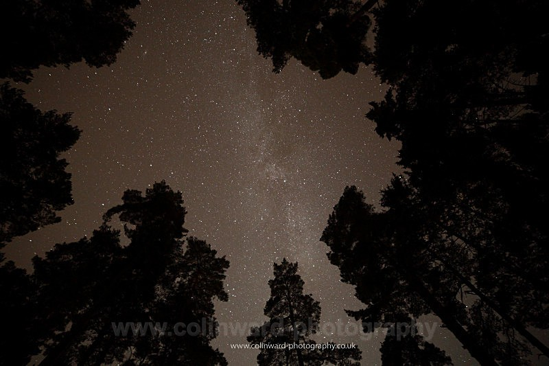 The milky way at Tunstall         ref 4274 - County Durham