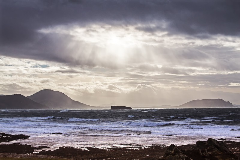 A view from Malin Head - Ireland by Day