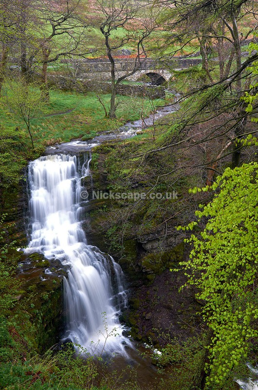 Scaleber Force Watefall - Yorkshire Dales, England, UK - Yorkshire