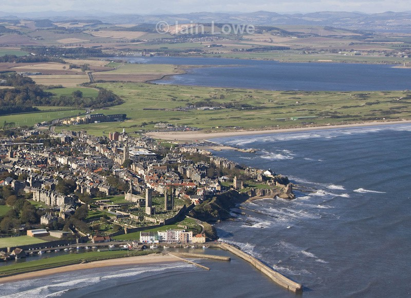 St Andrews Looking North - St Andrews Town Aerial