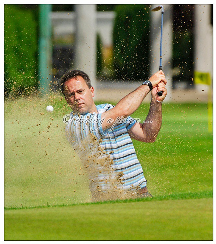 Bunker Shot - Leslie Walker - Sports