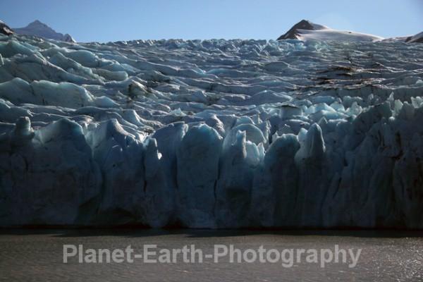 Portage Ice Barrier - Alaska & Canada