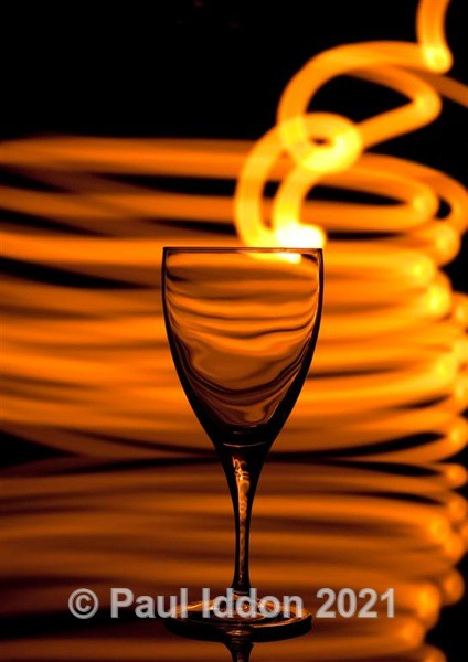 A Glass of Fire - Creative