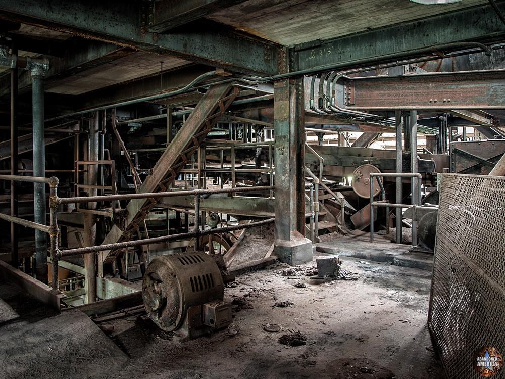 St. Nicholas Coal Breaker (Mahanoy City, PA) | Bowels of the Beast - St. Nicholas Breaker
