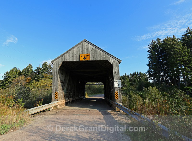 Shepody River #3 (Germantown Lake) - 1 - Covered Bridges of New Brunswick