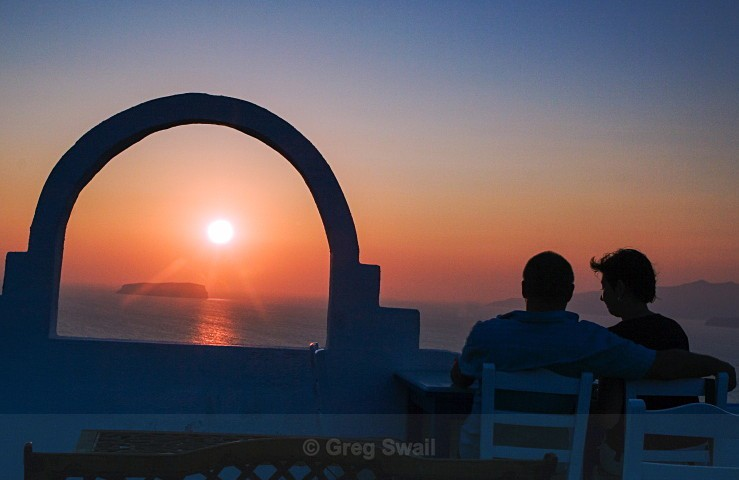 Peace at Last - Santorini Greece (Thira)