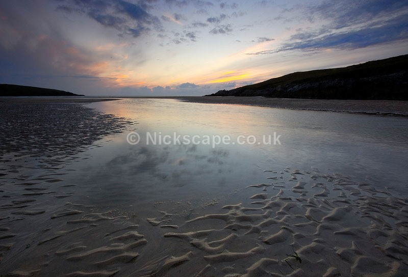Crantock Beach and Pentire Head   Cornwall Coast Seascape Galleries