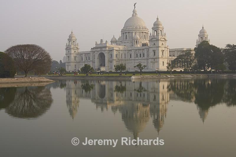 Victoria Monument at Dusk - India