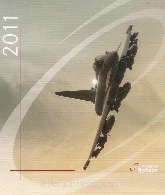 Eurofighter Typhoon ZJ700 - Published Images