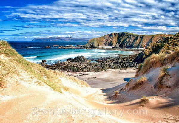 Beach at Faraid Head - Scottish Highlands