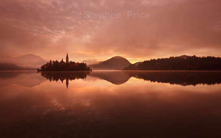 Lake Bled Sunrise | Slovakia Photography Workshop | Julian Alps