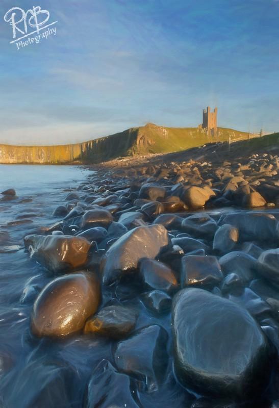 Dunstanburgh Castle - Digital Paintings