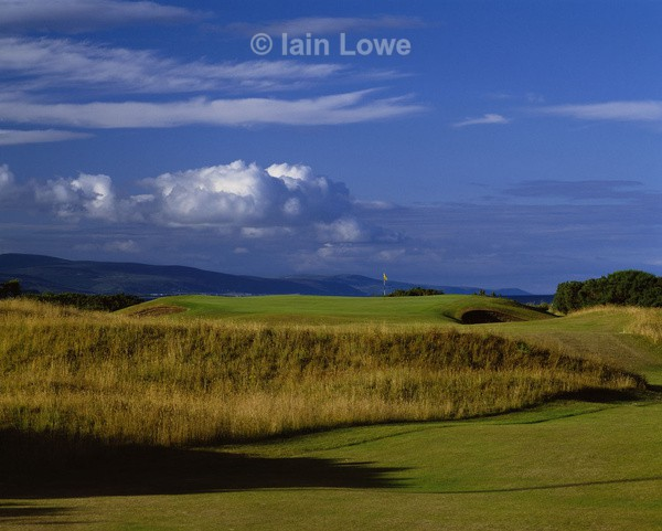 Dornoch 2nd Tee to Green - Royal Dornoch Golf Links