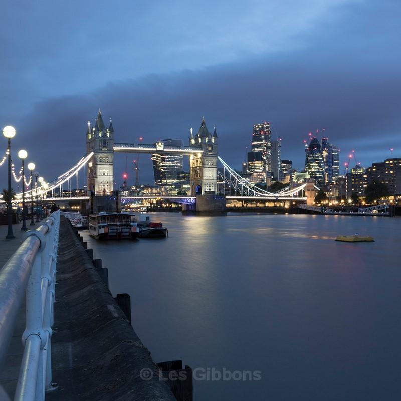 Tower Bridge night2 - London