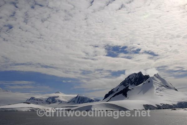 Scenery near Goudier Island - Antarctica