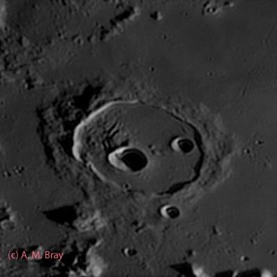 Cassini - Moon: North Region