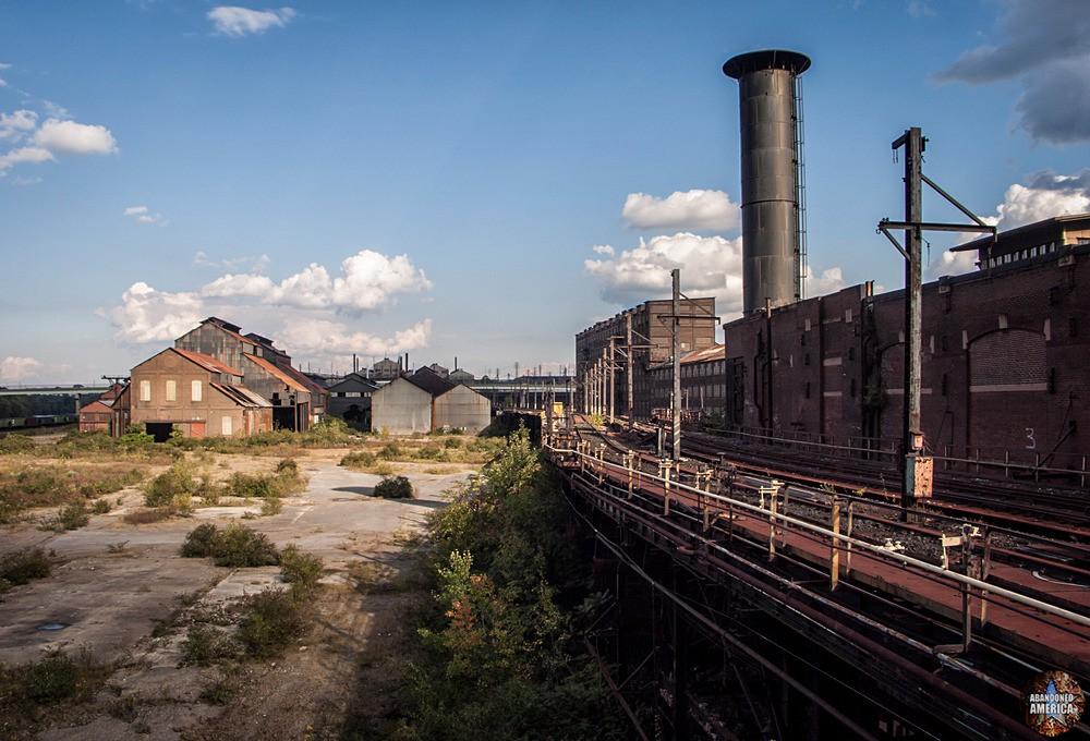 Bethlehem Steel (Bethlehem, PA)   Hoover-Mason Trestle - Bethlehem Steel